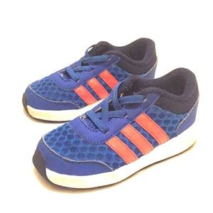 Blue Adidas sneakers for toddler boy size 6 1/2